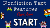 Nonfiction Text Features Jeopardy Style Game Show, Posters