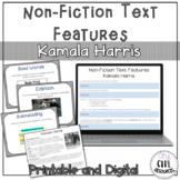 Nonfiction Text Features Kamala Harris