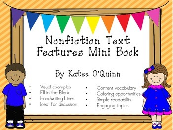 Nonfiction Text Features Mini Book