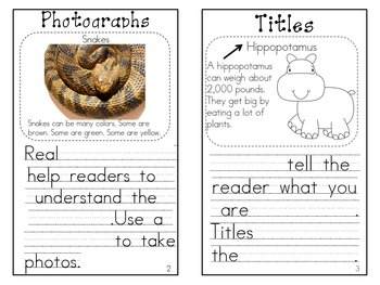 Nonfiction Text Features Mini Book