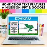 Nonfiction Text Features Mini Lesson #1 (Google & PPT) Dis