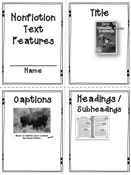 Nonfiction Text Features Mini Unit Bundle