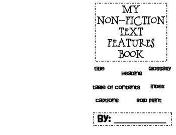 Nonfiction Text Features Mini-book