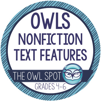 Nonfiction Text Features: Owls