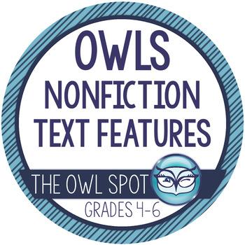 Nonfiction Text Features: Owls
