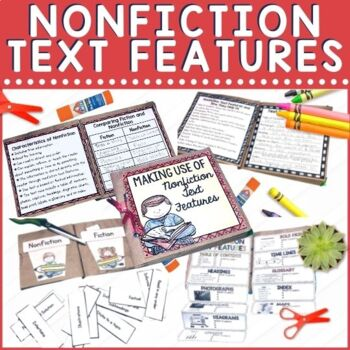 Learning nonfiction text features helps students better comprehend nonfiction texts. This paper bag book includes teaching pages as well as practice with multiple activities and texts.
