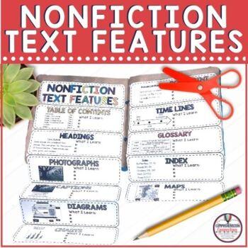 Nonfiction Text Features Paper Bag Book