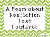 Nonfiction Text Features Poem