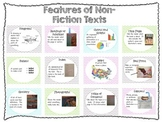 Nonfiction Text Features Poster Freebie