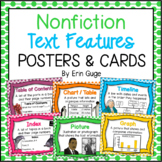Nonfiction Text Features Posters and Cards