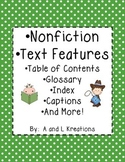 Nonfiction Text Features Practice