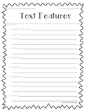 Nonfiction Text Features Practice Worksheets