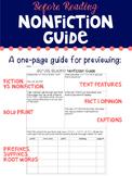 Nonfiction Text Features Guide