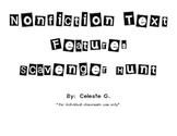 Nonfiction Text Features Scavenger Hunt