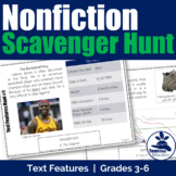 Nonfiction Text Features Scavenger Hunt #1 [STAAR]
