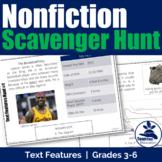 Nonfiction Text Features Scavenger Hunt #1 [STAAR]
