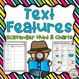 Nonfiction Text Features: Scavenger Hunt & Charts