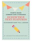 Nonfiction Text Features Lesson Grade 4