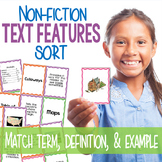 Nonfiction Text Features Sort - Great for Informational Text