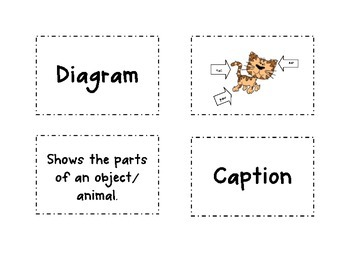 Nonfiction Text Features Sort CCSS RI 2.5