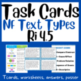 Nonfiction Text Features Task Cards:  RI 4.5