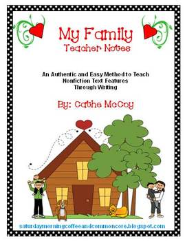 Non-fiction Text Features, Autobiography Writing; Perfect for 1st & 2nd Grades