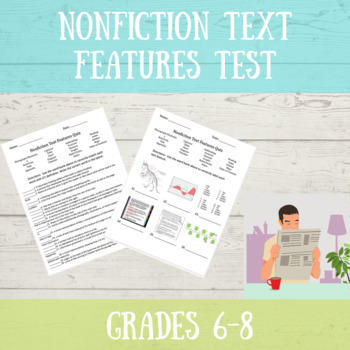 Nonfiction Text Features Test