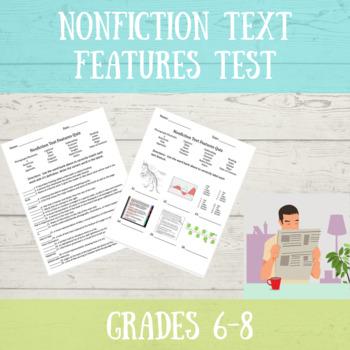Nonfiction Text Features Test
