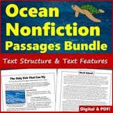 Nonfiction Text Features & Text Structure Passages - Print