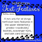 Nonfiction Text Features Unit