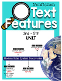 Nonfiction Text Features Unit {Mini Book, Reading Passages, and More!}
