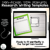 Nonfiction Text Features - Writing Templates For Target Mi