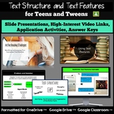 Text Features and Text Structure: Nonfiction Activities fo