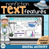 Nonfiction Text Features for Google Classroom   Distance Learning