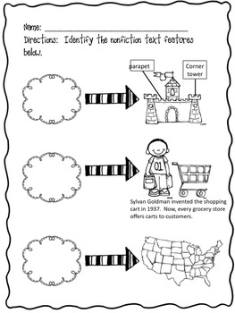 Nonfiction Text Features (maps, diagrams and captions)
