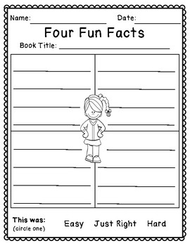 Nonfiction Text Graphic Organizers