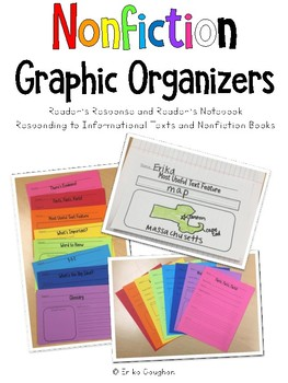 Nonfiction Text Graphic Organizers | Reader's Response | Reader's Notebook