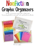 Nonfiction Text Graphic Organizers | Reader's Response | R