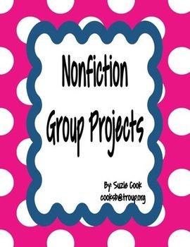 Nonfiction Text Group Project *100% COMMON CORE