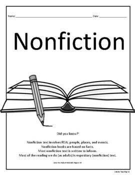 Nonfiction Mini-Course: Genre Study And Book Report