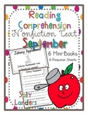 Nonfiction Text Reading Comprehension Pack for September