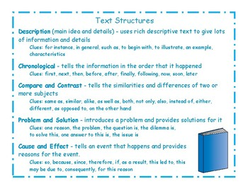 Nonfiction Text Structure