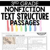 Nonfiction Text Structure 3rd Grade Reading Toothy®