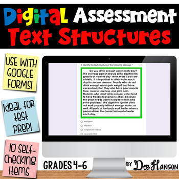 Nonfiction Text Structure Assessment using Google Forms: A Digital Resource