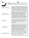 Nonfiction Text Structure - Bat Facts
