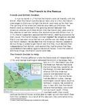 Nonfiction Text Structure - Cause and Effect, French Aid