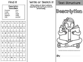 Nonfiction Text Structure: Description