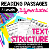 Nonfiction Text Structure - Differentiated Reading Passages