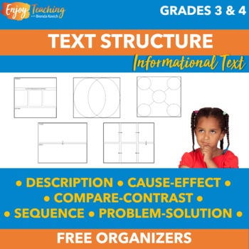 Nonfiction Text Structure FREEBIE