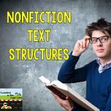 Nonfiction Text Structure Graphic Organizer Set